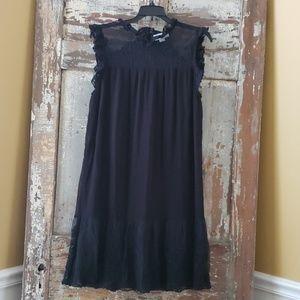 Women's Velvet brand Black Lace Dress